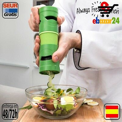 Always Fresh Kitchen Original Cortador de Verduras Curly Veggies Ralladores, cor