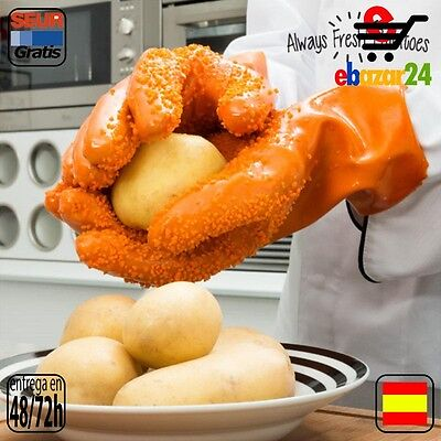 Always Fresh Kitchen Original Guantes Pelapatatas Ralladores, cortadores y pelad