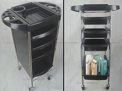 2 X Quality Salon Beauty Spa Hairdresser Hair Coloring Trolley Furniture