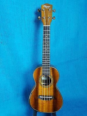 MIM: Ohana Concert Limited Edition CK-120G All Solid 5A Acacia Ukulele 291