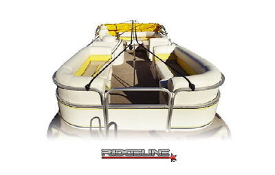 Eevelle Ridgeline Pontoon Boat Cover Support System - Fits Up to 28'