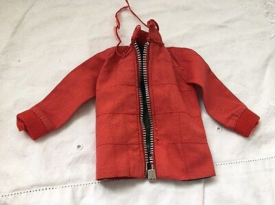 Vintage Knock Off Ken Doll Clone BRITISH CROWN COLONY Red Coat JACKET