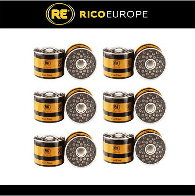 6 x Fuel Filters Cav Lucas 7111-296 / 522 / 566 Replaces BF825 26561117