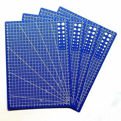 Fabric Leather Paper Board Card A4 Scale Plate Grid Lines Cutting Mat
