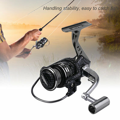YUMOSHI BA1000-7000 Lightweight High Speed 13+1 Aluminum Alloy Spinning Reel GT