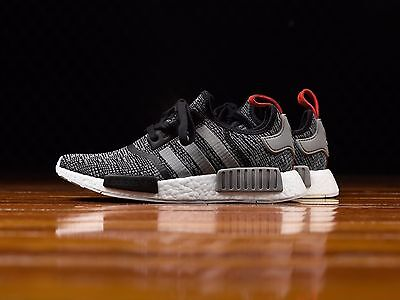 info for e2cd5 68a46 Adidas NMD R1 Glitch Camo Core Black Solid Grey Deadstock Men Size 5-14 (