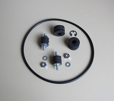 Wurlitzer Jukebox Turntable Motor Mounts, Belt & Grommets 2800 and 2810