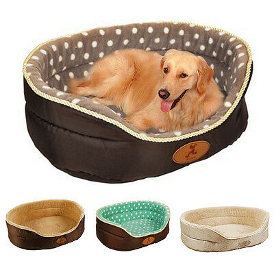 Pet Sleeping Bed Reversible Cozy Dog Cat Mat Pad Soft Home Puppy Cushion Basket