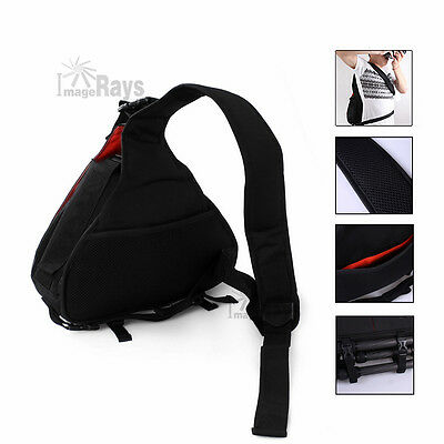 NEW Universal Sling Shoulder Camera Case DSLR Lens Waterproof Travel Carry Bag