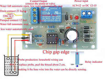 Liquid Level Controller Sensor Module DIY Kits Water Level Detection Sensor DT
