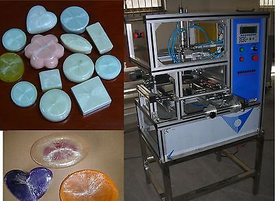 Automatic Stretch Film Soap Packing Wrapping Machine for Hotel Family Soap