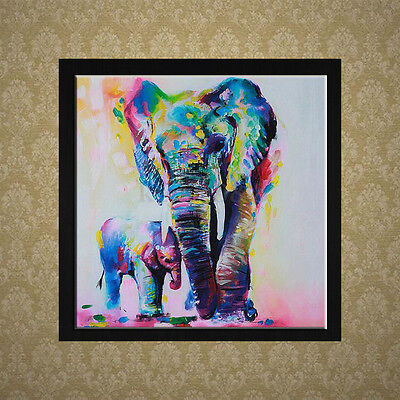 Bricolage 5D Diamond Broderie Peinture Croix Kit Point Elephant Animal Décor