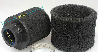 Scooter Pitbike 35Mm Universal Foam Air Filter Cleaner Carb 35 Mm Racing Kna Ram