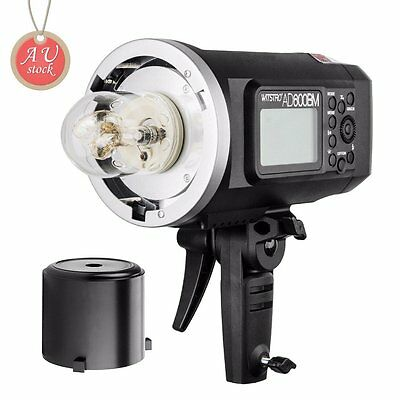 AU Godox AD600BM 600Ws HSS 2.4G Studio Flash Strobe Light Bowens Mount