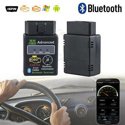 ELM327 OBD OBD2 II V2.1 Bluetooth Android Car Auto Diagnostic Scanner Tool New