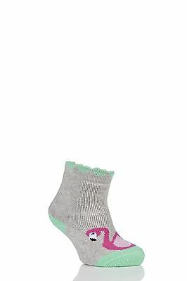 Babies 1 Pair Falke Flamingo Catspad Socks with Grip