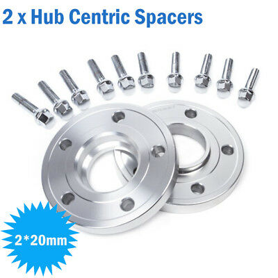 20mm Spacers 5x 120 72.5 Hub Centric Wheel Spacer Kit for BMW E60 E61 E90 E91