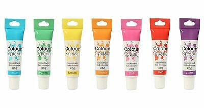 Colour Splash Concentrated Food Colouring Gel, 100% Edible, 29 Vibrant Colours