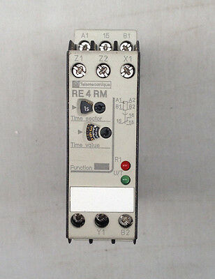 Telemecanique Electronic Multifunction Relay Re4 Ml11Bu - New Old Stock