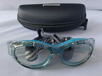 Sports goggles for basketball football hockey Paintball Lacrosse teams 852 blue