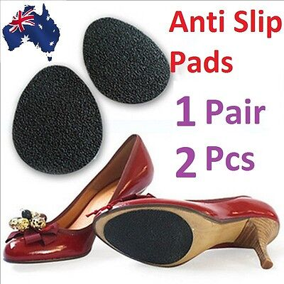2 x Self Adhesive Non Slip Shoe Sole Grip Pads High Heels Slippery Soles Care