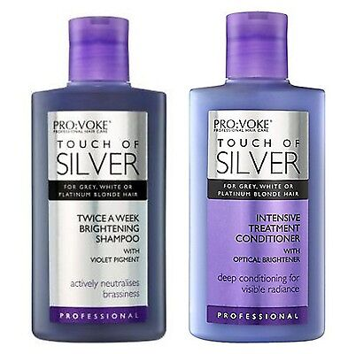 TOUCH OF Silver Argent Reflex Shampooing & Intense Après-shampooing 150ml chaque