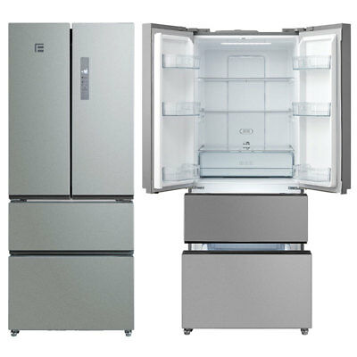 side by side k hl gefrierschrank kombi no frost getr nkespender scan skf550ss eur 240 00. Black Bedroom Furniture Sets. Home Design Ideas