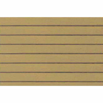 JTT Scenery Products 97414 PATTERN SHEETS, Clapboard Siding, Arch. 3/16 2/pk S