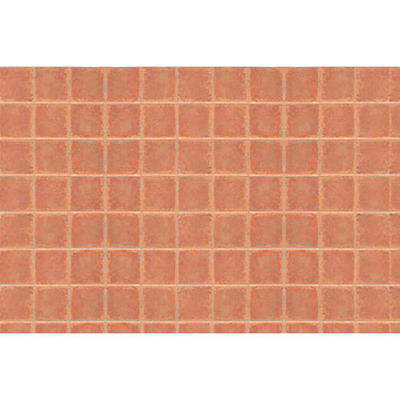 JTT Scenery Products 97417 PATTERN SHEETS, Square Tile, Arch. 3/16 2/pk S SCALE