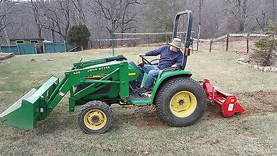 """48"""" Offsetable 3-point Rotary Tiller FH-TL125"""