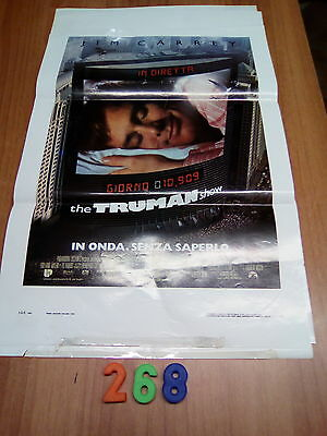 Locandina Cinema   N. 268  -   The Truman Show 1° Ed. Italiana 1998