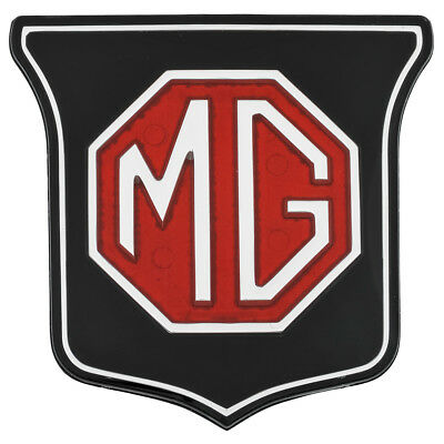 Mgb Mgb-Gt 1962-70 Red Black Front Grille Badge Ara2148