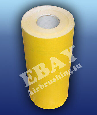 "PVC sandblasting film 190 micron 24"" width by 10 feet roll  for masking stencil"