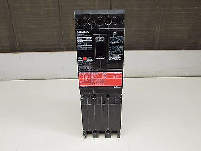 Siemens Ced63B125 Circuit Breaker Type Ced6 3P-125A-600V Good Takeout Make Offer