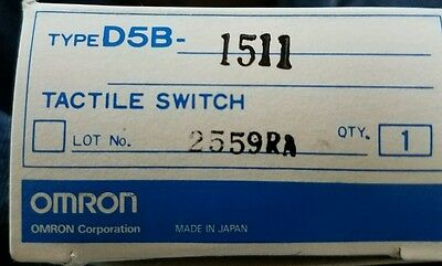 Omron D5B-1511 Tactile Touch Switch