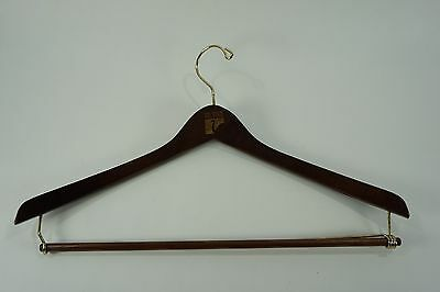 Vintage WOODEN HANGER- LARGE Suit Dress Pant Coat Hanger Inn at Mill River