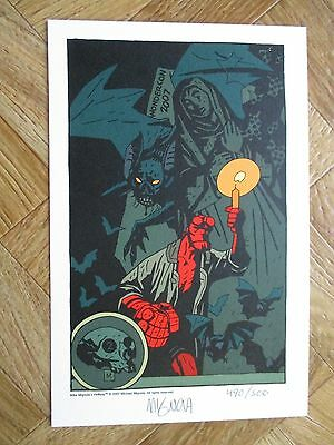 Mignola Wondercon 2007 490/500 Signed Near Mint (W4)