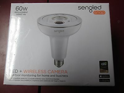 New Sengled Snap 60W Led + Wireless Camera