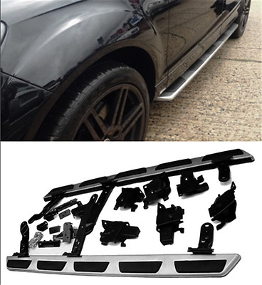 Audi Q7 2005-2015 OEM Style Stainless Steel Side Steps And Bars Running Boards
