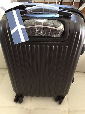 Luggage Travel Bag Set Trolley Spinner Carry On Suitcase TSA Lock Black 4 wheel