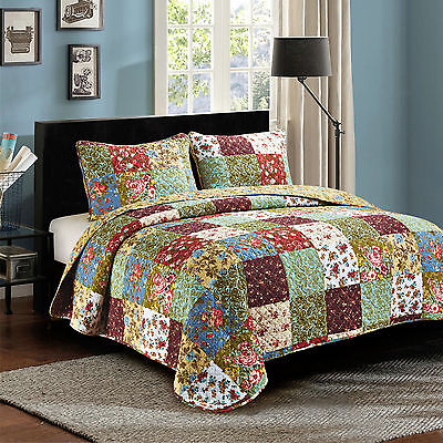 Home Bedding Decorative Quilts Bedspreads 3 Pc Cal King