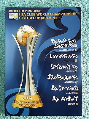2005 - FIFA CLUB WORLD CUP TOURNAMENT PROGRAMME - Featuring LIVERPOOL