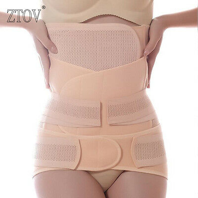 3 in 1 Breathable Elastic Women Postpartum Postnatal Recovery Shaper Girdle Hot