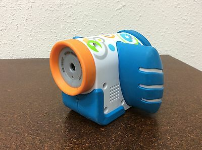 Fisher Price Kid Tough Video Camera Blue Rubber Grips Works
