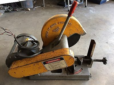 "Everett 10"" 3HP Abrasive Cutoff Saw"