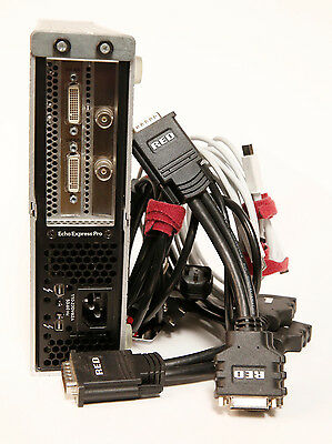 RED Rocket PCIe in Thunderbolt Enclosure w/Cables