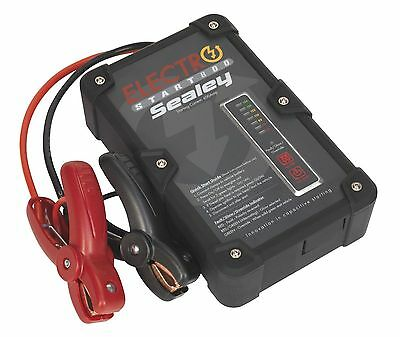 Sealey E/START800 ElectroStart Batteryless Power Start 800A 12V Jump Starter Car
