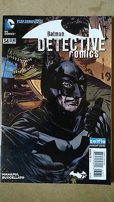 Batman Detective Comics #34 Selfie Variant 1St Print Dc Comics (2014) The New 52