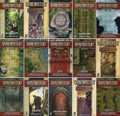 Selection: GAME MASTERY-MAP PACK-Tiles-Terrain-Miniatures-Role Playing GAME-new