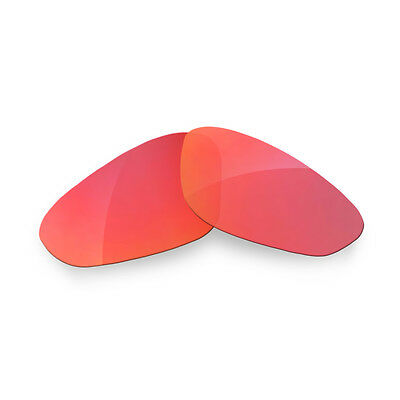 Fit&See Polarized Red Replacement Lenses for Oakley Monster Dog